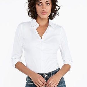 BRAND NEW  Express Slim button down Bodysuit